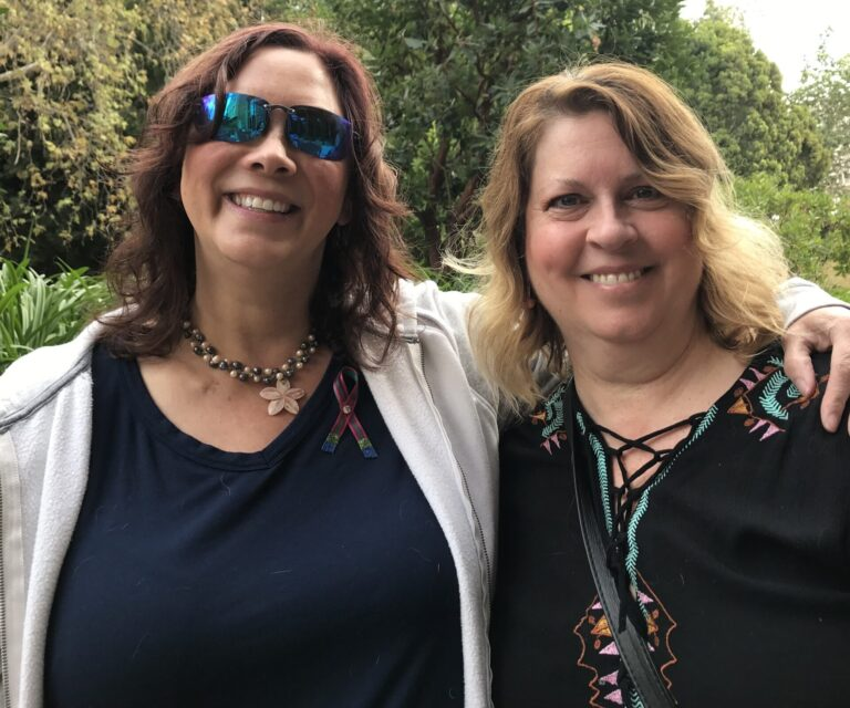 Andrea and Julie having fun at the Guthy-Jackson Foundation Conference in LA in 2019