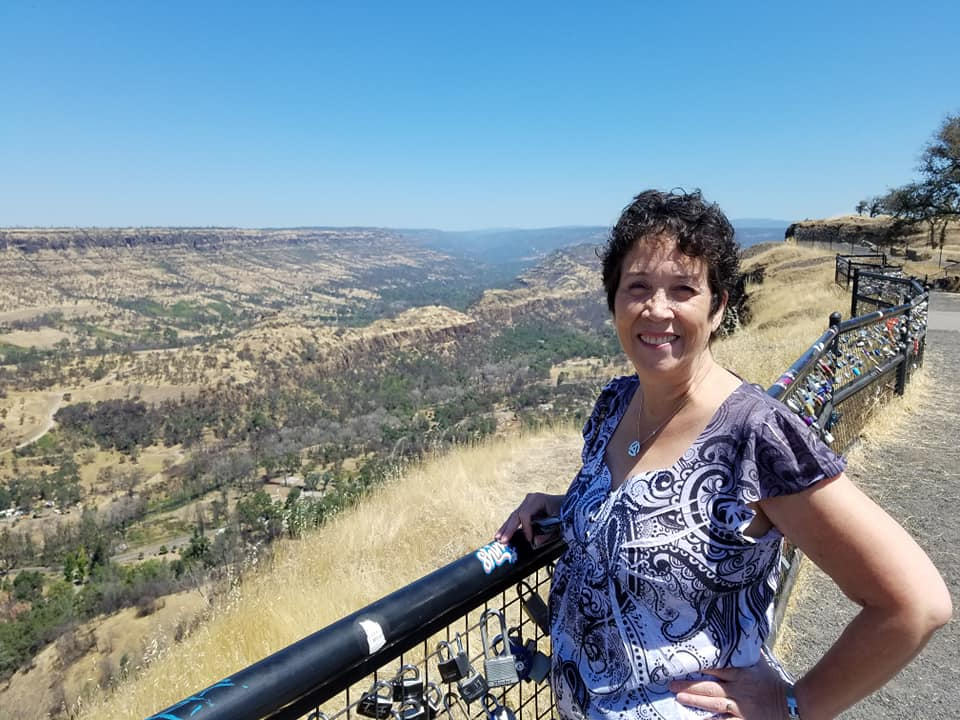 Julie Cook in the Little Grand Canyon